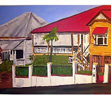 Old Queenslander Highgate Hill Brisbane  Photographic Print