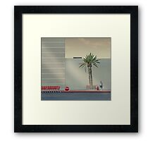 The Mall Framed Print
