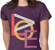 LOVE tee shirt unisex#2 Womens Fitted T-Shirt