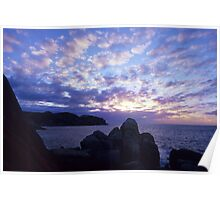 South Point Sunrise Poster
