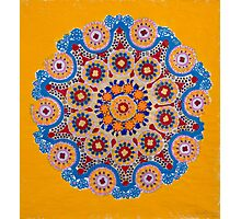 Doily Joy- Original Mandala Photographic Print