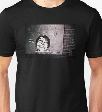 Smile or die punk.... Unisex T-Shirt