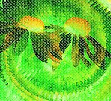 Lemon Lime-Available As Art Prints-Mugs,Cases,Duvets,T Shirts,Stickers,etc by Robert Burns