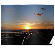 Sunset 1 16-10-08 Poster