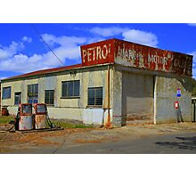 Petrolless Service Station Photographic Print
