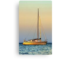 Mornington Sunset Canvas Print