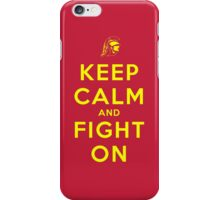 Keep Calm and Fight On (Cardinal iPhone Case) iPhone Case/Skin