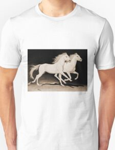 """Race of Life"" Sepia Unisex T-Shirt"