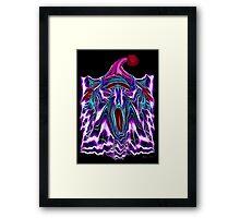 The YAWN - II Framed Print