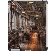 Machinist - A fully functioning machine shop  iPad Case/Skin
