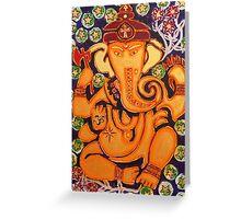 Ganesha- Elephant Power Greeting Card
