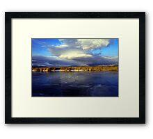 Bear River Framed Print