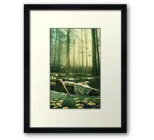 Remembering How To Breathe... Framed Print