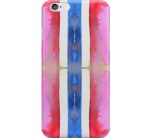 blue stripe iPhone Case/Skin