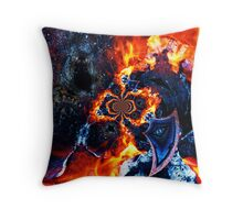 The world of the fire Throw Pillow