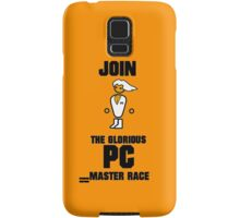 Join the PC Master Race Samsung Galaxy Case/Skin