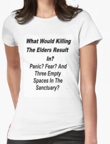 Skulduggery Pleasant Womens Fitted T-Shirt