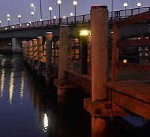 CARRINGTON BRIDGE WALKWAY by Phil Woodman