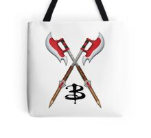 Buffy -- Scythes Crossed Tote Bag