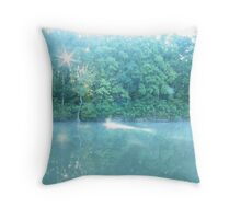 Where Fairies Live Throw Pillow