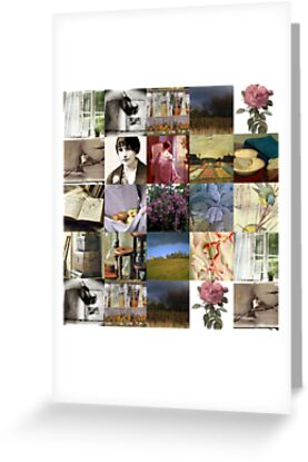 Nature and Poetry Collage by Nightingale