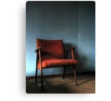 'The chair' Canvas Print