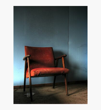 'The chair' Photographic Print