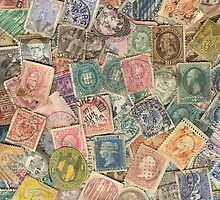 Antique Postage by Abigail  Mooney