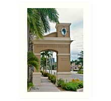 Ponce de Leon Entrance Art Print