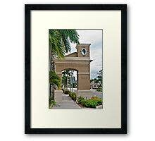 Ponce de Leon Entrance Framed Print