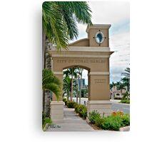 Ponce de Leon Entrance Canvas Print