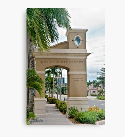 Ponce de Leon Entrance Metal Print