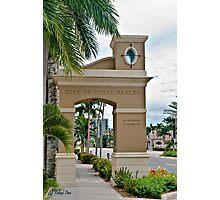 Ponce de Leon Entrance Photographic Print