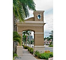 Ponce de Leon Entrance Photographic Print