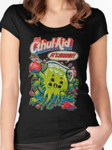 CTHUL-AID Women's Fitted Scoop T-Shirt