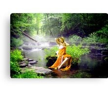 Streaming Enchantment Canvas Print