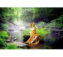 Streaming Enchantment Photographic Print