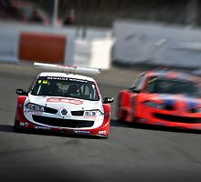 Renault Megane racing by chuckieowl