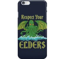 Respect Your Elders iPhone Case/Skin