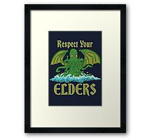 Respect Your Elders Framed Print
