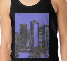 skyline (in gold) Tank Top