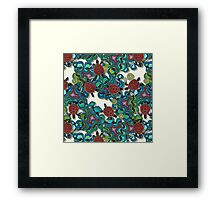 turtle reef Framed Print