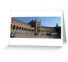 Plaza de Espania Greeting Card