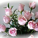 The Heart Of a rose is LOVE ! by Nancy Richard