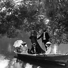 Boating on the Yarra river 1890s by Maggie Hegarty