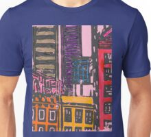 view from the moma (pink) Unisex T-Shirt