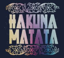 Hakuna Matata Colors by keroquesilva