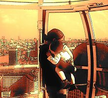 Mother's Day Out (A view from the London Eye) by HeathaB