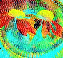 Tropical Delight-Available As Art Prints-Mugs,Cases,Duvets,T Shirts,Stickers,etc by Robert Burns