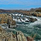 The Great Falls of the Potomac River by Lanis Rossi